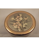 Chokin Trinket Box gold,silver engraving Vintage - $13.95