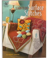 Learn to Do Surface Stitches Crochet Patterns B... - $7.99