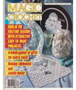 Magic Crochet Magazine 45 December 1986 Thread ... - $8.99