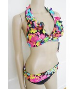 Nwt  Kenneth Cole Reaction 2 PC Halter Ruffled ... - $44.50