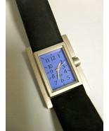 Architect Michael Graves Deco Watch 5027 suede ... - $98.01