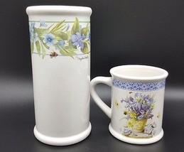 Marjolein Bastin Natures Sketchbook Mug Vase Ut... - $29.99