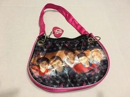 One Direction Girls Purse Tote Bag Handbag 1D Pink - $12.99