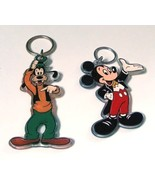Disney Mickey and Goofy Acrylic Keyring Set - $12.99