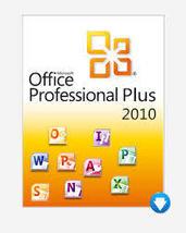 Microsoft Office 2010 Pro Plus - 1pc License Code - $40.69