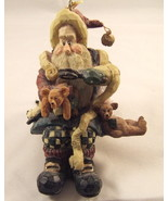 Shelf Sitter Santa and Final Inspection Boyds ... - $18.95