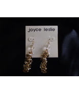 Beautiful bead chip earrings - $0.00