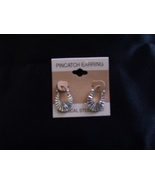 Surgical steel siver tone earrings - $0.00