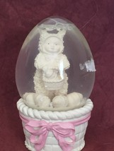 Snow Bunnies Ester Snow globe - $15.00