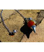 Magick agate pendulum Moonstar7spirits powerful... - $51.00