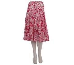 Motto Gored Comfortable Allover Floral Printed ... - $13.64