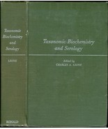 Taxonomic biochemistry and serology. - $13.50