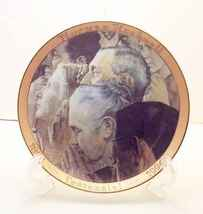 Freedom to Worship-Norman Rockwell Collector Plate - $35.00