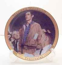 Freedom of Speech-Norman Rockwell Collector Plate - $35.00