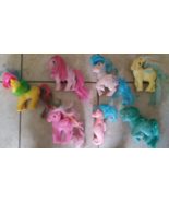 Rare Vintage 1980's My Little Pony Lot + Seahor... - $95.00