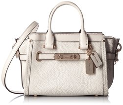 COACH Women's Pebbled Leather Coach Swagger 20 ... - $336.59