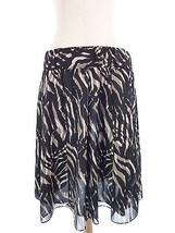 Alfani M Black & Beige Safari Skirt Size Medium - $17.92