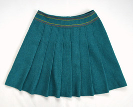 Vtg 70s Teal Green Wool BOBBIE BROOKS Union Mad... - $17.81