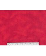 Rich Red Tie Dye Flannel, cotton quilting fabri... - $6.90