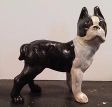 Small Cast Iron HUBLEY Style Bulldog BANK Bosto... - $22.76