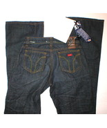 MISS SIXTY JEANS RIGID EXTRA LOW TY 25 X 33 - $44.99