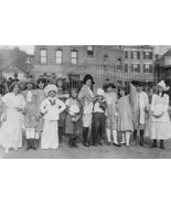 Children Costumes 1913 Vintage 8x12 Reprint Of ... - $23.30