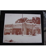 Texaco Gas Station Old Gas Visible Pumps Vintag... - $20.20