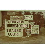 Trailer Park Woodbine Gerogia Soda Signs- Hires... - $20.20