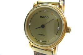 Authentic RADO 4Point Dia Plastic Band Quartz W... - $177.21