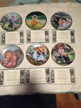 Knowles collector plates  March of Dimes series... - $25.00