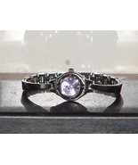 Pre Owned Women's Fashion Silver & Purple Analo... - $8.00