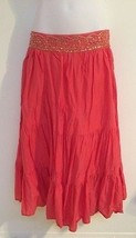 Metro 7 Juniors/Women's SZ 2 Coral Embellished ... - $24.74