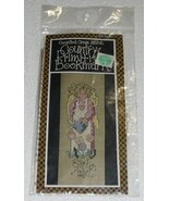 Country Primitive Bookmark Garden Angel Counted... - $3.00