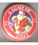 Lump of Coal in Christmas Tin for Naughty Boys ... - $3.99
