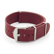 DASSARI Veteran Italian Leather G10 NATO Zulu W... - $29.99