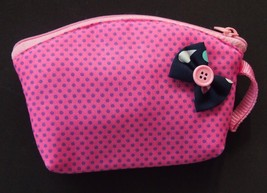 HANDMADE COLORFUL FABRIC KIDS COIN WALLET ZIP T... - $6.99