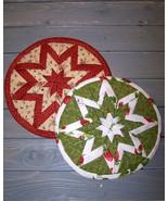 Folded Star~Heat Resistant~Trivet Pattern~Bz - $11.95