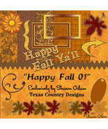 Happy Fall Digital Scrapbooking Kit - $4.00