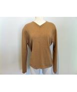 Prague Tan Cashmere Sweater size L - $50.00