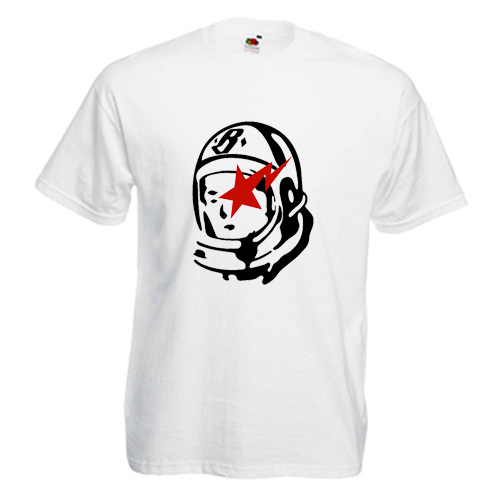 HOT Tee Billionaire Boys Club BBC Astronout Logo White T-Shirt Size S M L XL 2XL