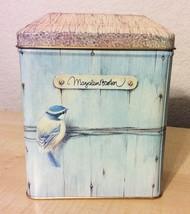 Marjolein Bastin Tin 1995 Hallmark Birdhouse Vi... - $14.84