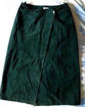 Adrian Jordan Suede Leather Hunter Green Plus S... - $24.47
