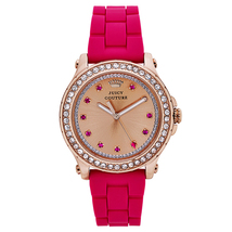Juicy Couture, Women's Pink, Rubber & Goldtone,... - $145.00