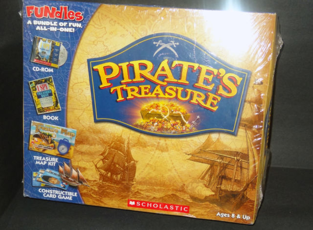 I Spy Pirate's Treasure: Book + Cd-rom + Treasure Map Kit + Constructible...
