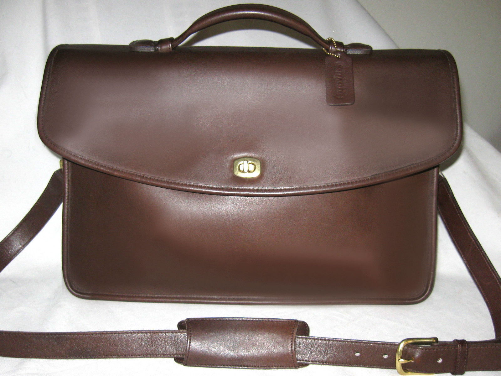 Buy briefcases for women - $600 Coach Brown Lexington Briefcase Mens Or Women Attache Messenger Perfect