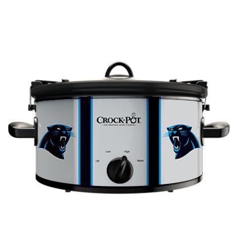 Official NFL Crock-Pot Cook & Carry 6 Quart Slow Cooker - Carolina Panthe