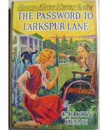 Nancy Drew mystery #10 THE PASSWORD TO LARKSPUR... - $100.00