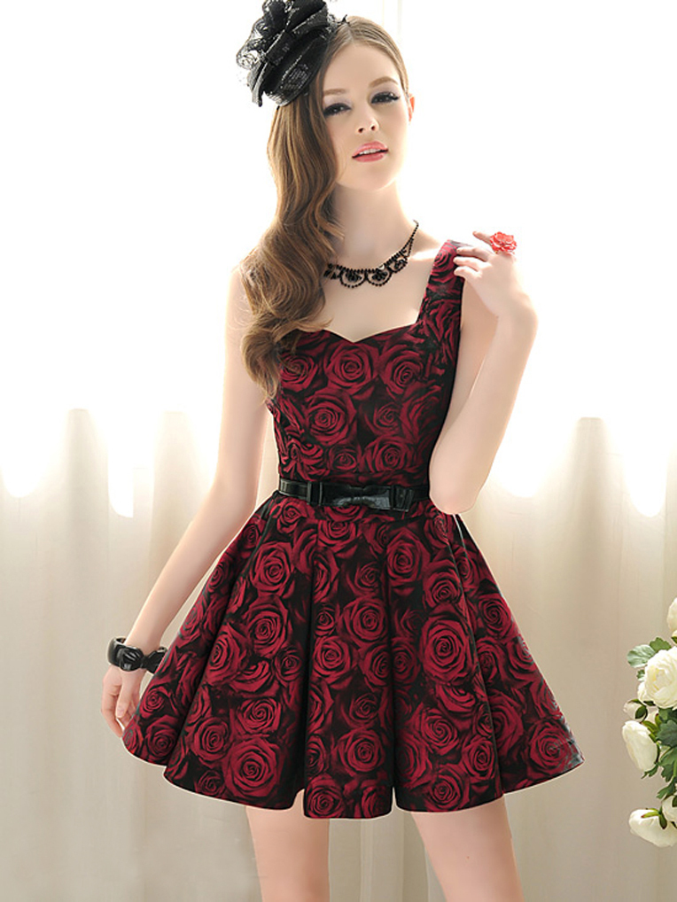 2012_spring_summer_borcade_dress_red_roses_b