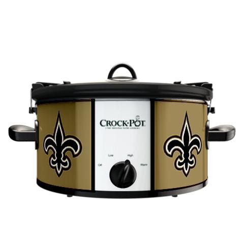 Official NFL Crock-Pot Cook & Carry 6 Quart Slow Cooker - New Orleans Saints
