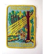 Vintage Boy Scout Patch Friendship Scouts Canada